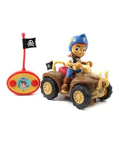 Loving this Jake and the Never Land Pirates Remote Control Roadster on #zulily! #zulilyfinds