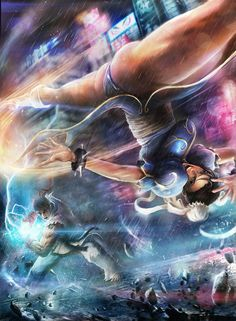 Street Fighter:Ryu & Chun Li