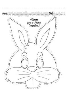 Free printable coloring pages for print and color, Coloring Page to Print , Free Printable Coloring Book Pages for Kid, […] Make your world more colorful with free printable coloring pages from italks. Our free coloring pages for adults and kids. Coloring Pages To Print, Free Printable Coloring Pages, Templates Printable Free, Coloring Book Pages, Bunny Crafts, Easter Crafts, Bunny Mask, Animal Activities, Animal Masks