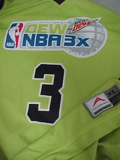 MOUNTAIN DEW 3 NBA 3x Tournament Basketball Jersey Shirt XL Allen Sportswear #AllenSportswear