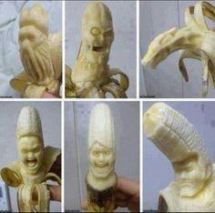 super Evil banana.