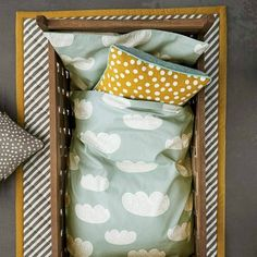 DECOIDEAS, Decoración Infantil y Juvenil. ¡ En Decoideas se habla de las fundas nórdicas de ferm LIVING, las cuales puedes encontrar en nuestra tienda! Funda nórdica Clouds Bedding Mint de ferm LIVING en Ottoyanna. #fundaNordica #fermLIVING #decoideas