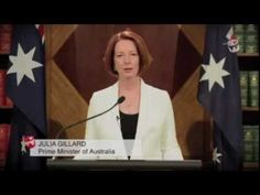 Gillard Addresses End of the World  Yes, this is the Prime Minister of Australia discussing the apocalpyse