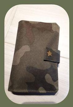 Portefeuille Compère camouflage cousu par Alexandra - Patron Sacôtin