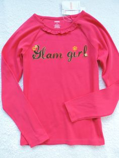 NWT Girl's Gymboree Long Sleeve Graphic Tee Size: 10