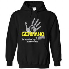 GERMANO-the-awesome - #tee women #tshirt outfit. GET YOURS => https://www.sunfrog.com/Names/GERMANO-the-awesome-Black-61220799-Hoodie.html?68278