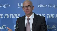 The Amazon founder's Blue Origin aerospace outfit will develop rocket engines for the United Launch Alliance -- a joint venture between Lockheed Martin and Boeing that creates spacecraft for the U.S. government.