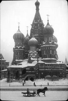 1929. Собор Василия Блаженного