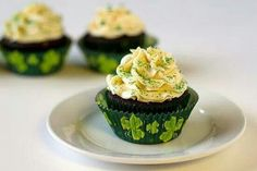 Guineas whiskey cupcakes