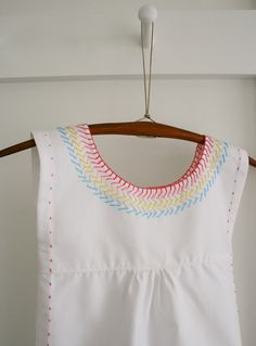 Molly's Sketchbook: Embroidered Cotton Jumper