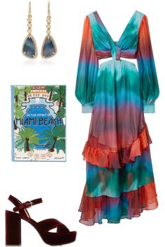 11 Spring Wedding Guest Dresses - What to Wear to a Spring Wedding Stunning Dresses, Nice Dresses, Summer Dresses, Turquoise Fashion, Wedding Looks, Spring Wedding, What To Wear, Tie Dye, Tops