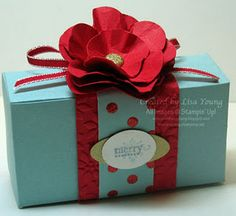 A Simple Box With a Simple Flower
