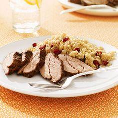 Spice-Rubbed Pork Tenderloin #myplate #pork