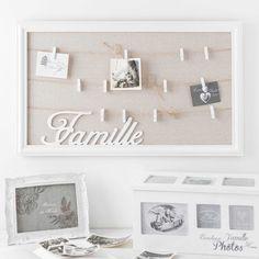 Holzbox mit 8 Fotoalben, 20 x 34 cm, weiß | Maisons du Monde