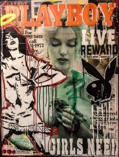 Silkscreen stenciled collaged and mixed media on paper 102 x 76 cm Aesthetic Images, Retro Aesthetic, Aesthetic Wallpapers, Pop Art Wallpaper, Trippy Wallpaper, Photo Wall Collage, Picture Wall, Vintage Playmates, Hippie Art