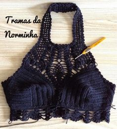 crop crochet top
