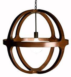Dixon Walnut Lantern