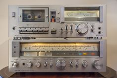 Sony STR-414L AM/FM Program Receiver (1978-79) And SONY TC-U5 Hi-Fi STEREO CASSETTE DECK (1978-79)