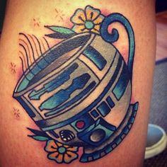 Star Wars tattoo. Jeremy Hamilton