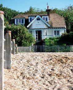 Artists Beach House, Beach House Whitstable, Whitstable Beach Houses, Tankerton Beach - love this house :)