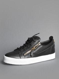 giuseppe zanotti sneakers low grey
