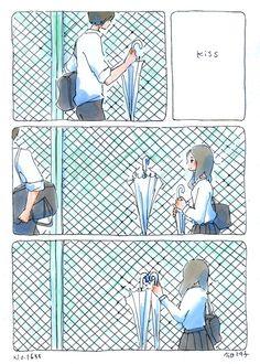 今日マチ子のセンネン画報の画像 Couple Illustration, Illustration Art, Anime Manga, Anime Art, Notebook Art, Manga Story, Different Art Styles, Short Comics, Comic Panels