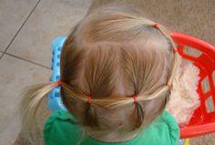 Side ponytail on toddler hair Toddler Hair Dos, Toddler Hairstyles, Baby Girl Hairstyles, Hair Kids, Princess Hairstyles, Emma Jane, I Love Girls, Hairdos, Hair And Nails
