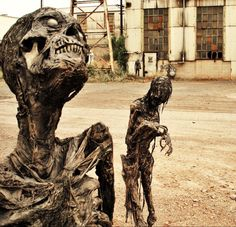 Zombies - The Walking Dead - Pumpkinrot