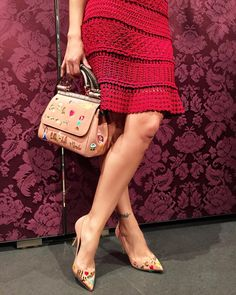 "Vanessa Montoro no Instagram: ""@vanessamontoro Casablanca Red Dress (shop online…"