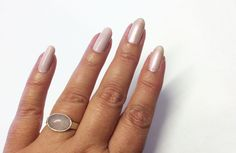 FUNKY AND FIFTY: My shorter pale pink nails with Lumene Gel Effect 45 Bright Evenings and 52 Luminosity. #lumene #naturalnails #funkyandfifty