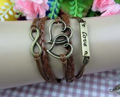 Retro fashion leather braided rope wax rope by Perfectpersonality, $4.99