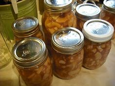 Canning Apple Pie Filling – How to make Homemade Apple Pie Filling.  One quart is perfect amount for one pie.