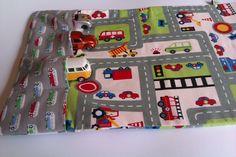 Autos - Bus-Garage/Autotasche für unterwegs - ein Designerstück von nanny21 bei DaWanda