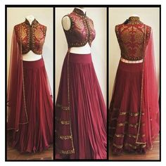 This Pin was discovered by Ali. Discover (and save!) your own Pins on Pinterest. | See more about Indian Lehenga, Blouses and Red Lehenga.