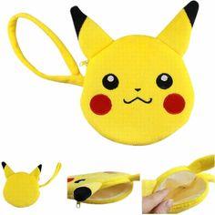 15cm Pokemon Cute Version Pikachu Charmander Jolteon Vaporeon Flareon Plush Wallet Pokemon Plush Toys Japan Anime Collections #E