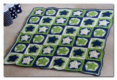 frills & spills: Star baby blanket