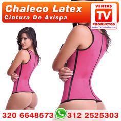 VENTAS TV PRODUCTOS te trae el Chaleco Latex Deportivo Colombiano de la más alta calidad tipo exportación, con 3 lineas de ganchos reajustables y construido con 3 capas: tela en el exterior, latex en el medio y algodon en la parte interna. WhatsApp +57 3122525303 - CALI - COLOMBIA www.VentasTvProductos.com  Colombian Factory Waist Trainer Cincher