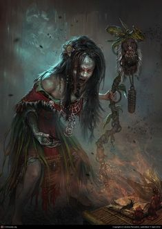 Mambabarang (Phillipines)  Mambabarangs are ordinary human beings with black magic who torture and later kill their victims by infesting their bodies with insects.