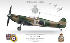 Spitfire Mk.Ia RAF 19SQ
