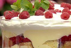 Raspberry and Sherry Trifle Recipe : Paula Deen : Food Network - FoodNetwork.com