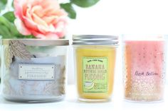 bougies bath and body works  #bougies #candles #candle #bougieparfumee #bathandbodyworks