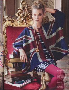 from Vogue Knitting. Love british clothes