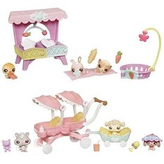 Littlest Pet Shop Theme Pack Babies Wave 1 Set Toys The Effective Pictures We Offer You About Littlest Pet Shop Toys play sets A quality picture can tell y Lps Littlest Pet Shop, Little Pet Shop Toys, Little Pets, Needle Felted Animals, Felt Animals, Barbie Ballet, Lps Baby, Lps Accessories, Lps Toys