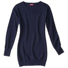 Merona® Petites Long-Sleeve Tunic Sweater - Assorted Colors