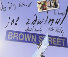 """Released on November 27, 2006, """"Brown Street"""" is the last album by Joe Zawinul with the  WDR Big Band, revisiting his old repertoire live in Vienna. TODAY in LA COLLECTION on RVJ >> http://go.rvj.pm/c62"""