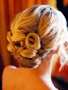 so pretty.  A lovely up do for your wedding
