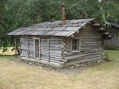 Zane Grey's 1920s wilderness cabin on the Rogue Riverin Winkle Bar, Oregon