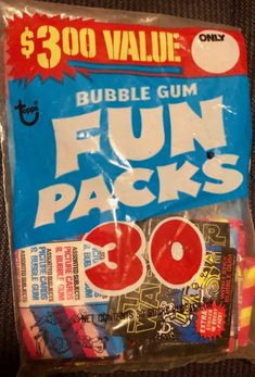 Chewy Candy, Picture Cards, Bubble Gum, Bubbles, Stickers, Fun, Trading Cards, Pictorial Maps, Chewing Gum