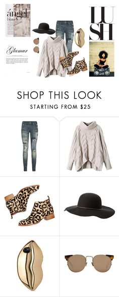 """""""because your no angel either"""" by janayasade ❤ liked on Polyvore featuring Polo Ralph Lauren, Jeffrey Campbell, Spalding, Charlotte Russe, STELLA McCARTNEY and Linda Farrow"""