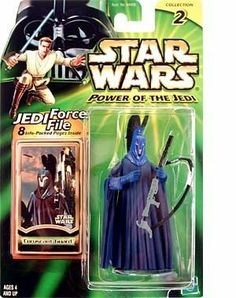 Star Wars Power of the Jedi Coruscant Guard Action Figure by Hasbro. $4.75. Includes Acessories. Coruscant Guard Action Figure. Star Wars Power of the Jedi Coruscant Guard Action Figure